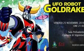 Proiezione – UFO ROBOT GOLDRAKE