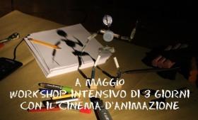 Workshop sul Cinema di animazione con Raffaele Luponio