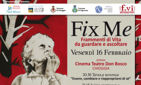 FIX ME Reading teatrale con Vasco Mirandola – Teatro Don Bosco – Chioggia