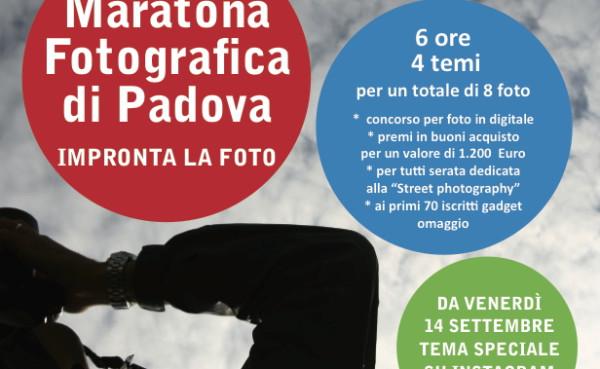 Maratona fotografica di Padova 2018