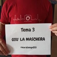 tema 3 GIU LA MASCHERA maratonapd20
