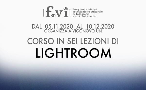 Corso Lightroom – 6 lezioni di giovedì